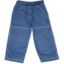 Boys Navy Long Pants