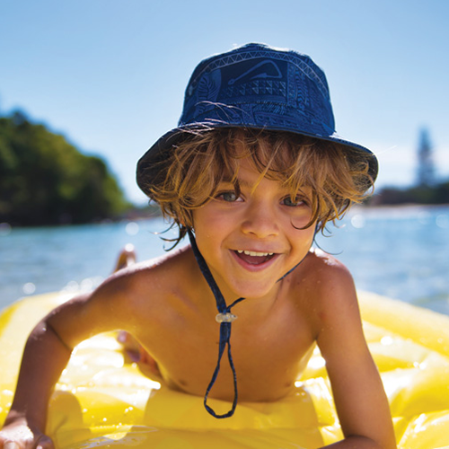 Boys Dozer Bryce Bucket – Swim Hat
