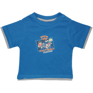 Boys Dark Blue Tshirt Football