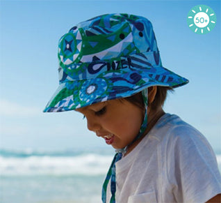 Image of Boys Echo Bucket Hat – Reversible