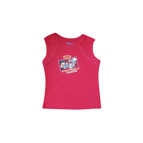 Boys Red Muscle Top Football