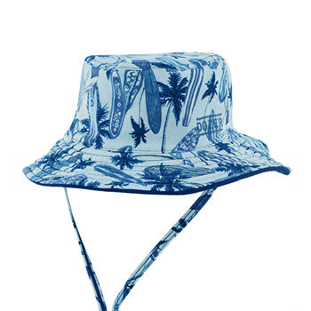 Boys Dozer Wave Bucket – Swim Hat