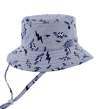 Image of Boys Zap Bucket Hat – Reversible