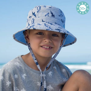 Boys Zap Bucket Hat – Reversible