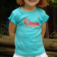 Girls Aqua TShirt - Daddy's Princess
