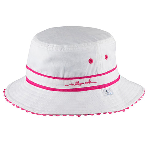 Image of Girls Cotton Tammy Bucket Hat – Reversible