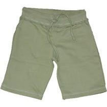 Girls Khaki Long Shorts