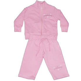 Girls Pink Track Suit