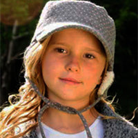 Girls Woodchopper Mao Hat - Millymook