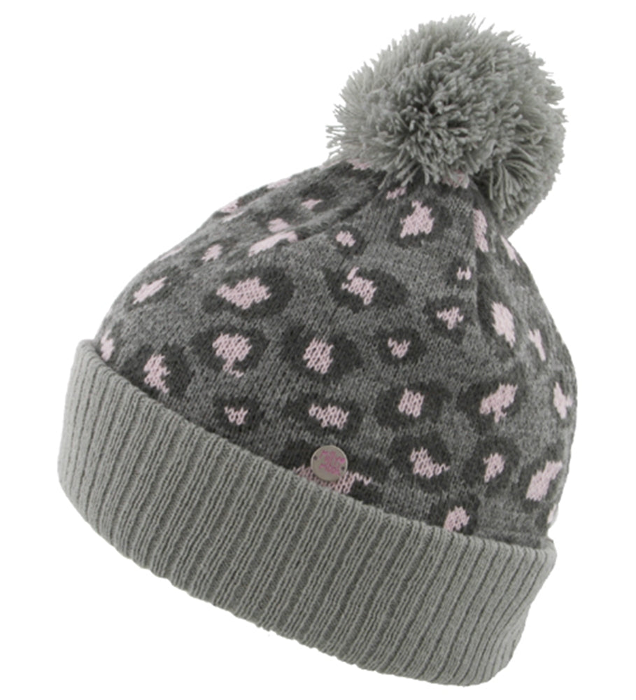 Girls Leopard Beanie - Millymook