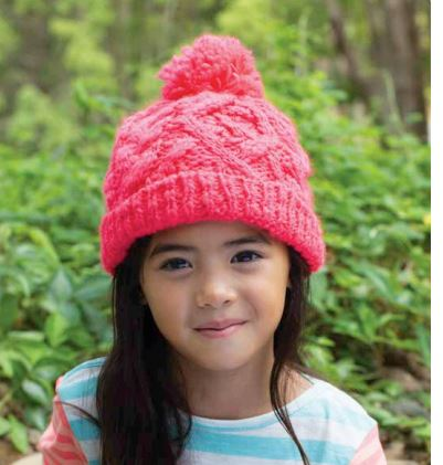 Girls Lizzie Neon Beanie - Millymook