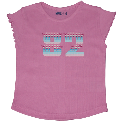 Girls Pink Tshirt 82