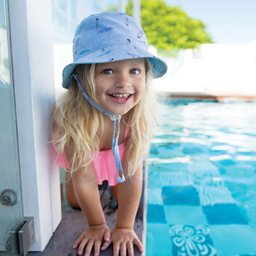 Girls Taylor Surf Bucket - Reversible
