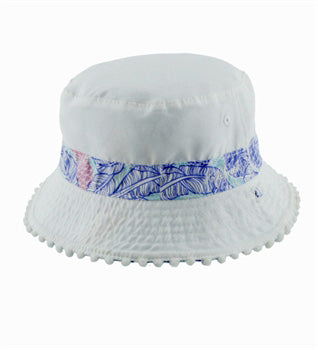 Girls Tropics Bucket Hat – Reversible