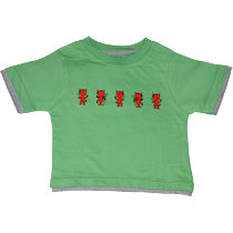 Green T Shirt - Red Devils
