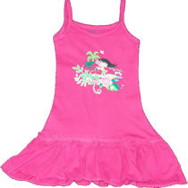 Hot Pink Frill Dress - Hula Girly