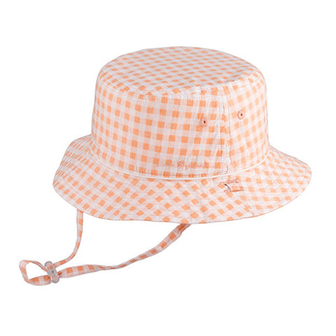 Image of Girls Fifi Cotton Bucket - Reversible