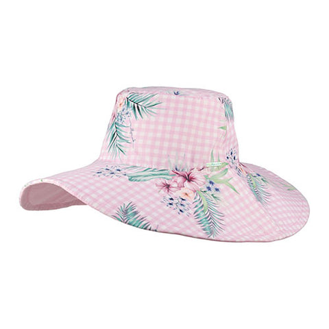 Image of Millymook Girls Abby Wide Brim Hat