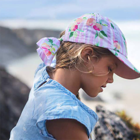 Image of Girls Peachy Cotton Cap
