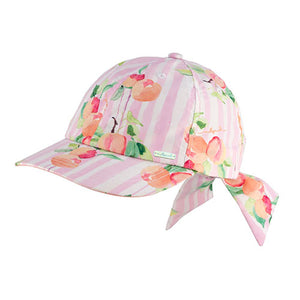 Girls Peachy Cotton Cap
