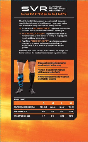 PHANTOM ATHLETICS - Shock Doctor Kompressions Socken