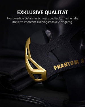 PHANTOM ATHLETICS - Phantom Trainingsmaske - GOLD Edition