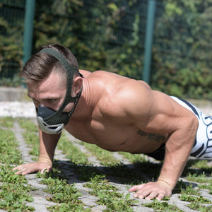 Phantom Athletics Trainingsplan - 6 Wochen Bodyweight Körpergewicht für Phantom Trainingsmaske Training Mask Plan