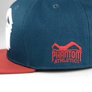 Phantom Athletics Cap Team Kappe Snapback Hat Logo rot Red Blue Blau Petrol