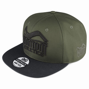 Phantom Athletics Cap Team Kappe Snapback Hat Logo Black Schwarz Grün green