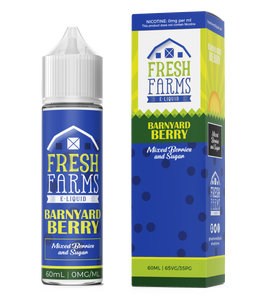 Fresh Farms Eliquids Original range 30ml | Barnyard Berry - Mixed Berries & Sugar Salts