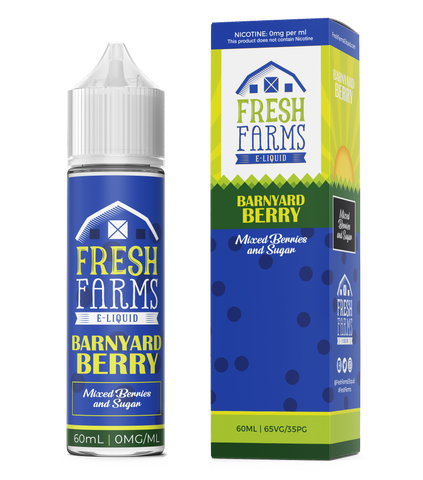 Fresh Farms Eliquids Original range 60ml | Barnyard Berry - Mixed Berries & Sugar