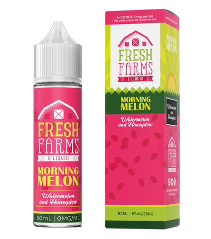 Fresh Farms Eliquids Original range 30ml | Morning Melon - Watermelon & Honeydew Salts