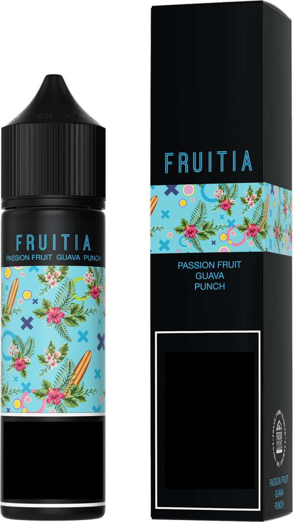 Fresh Farms Eliquids 60ml | Fruitia | Passion Fruit Guava Punch