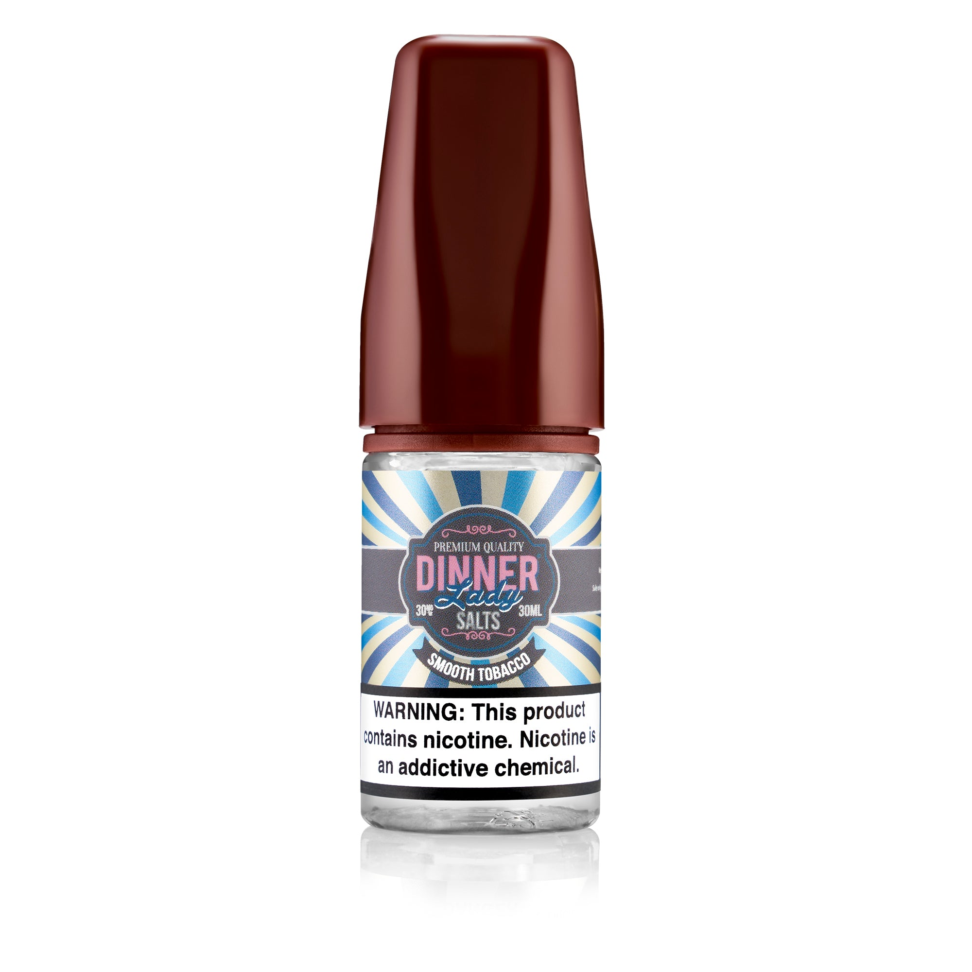 Dinner Lady | Smooth Tobacco 30ml Salts