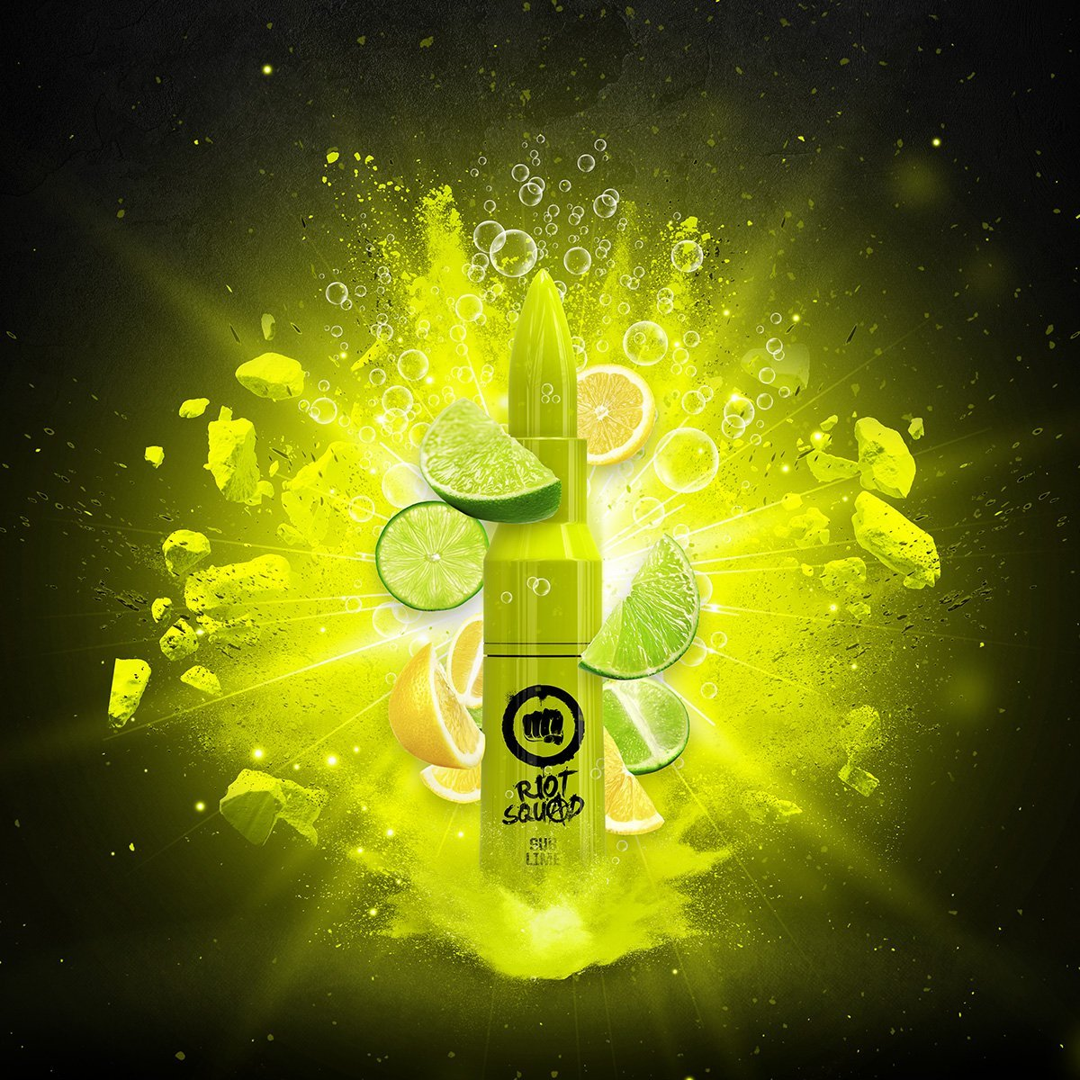Riot Squad Eliquid 60ml | Sub-Lime