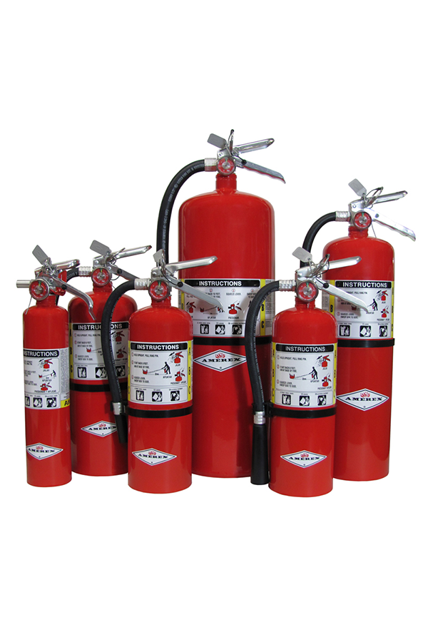 Amerex ABC Fire Extinguisher 2.5/5/10LB