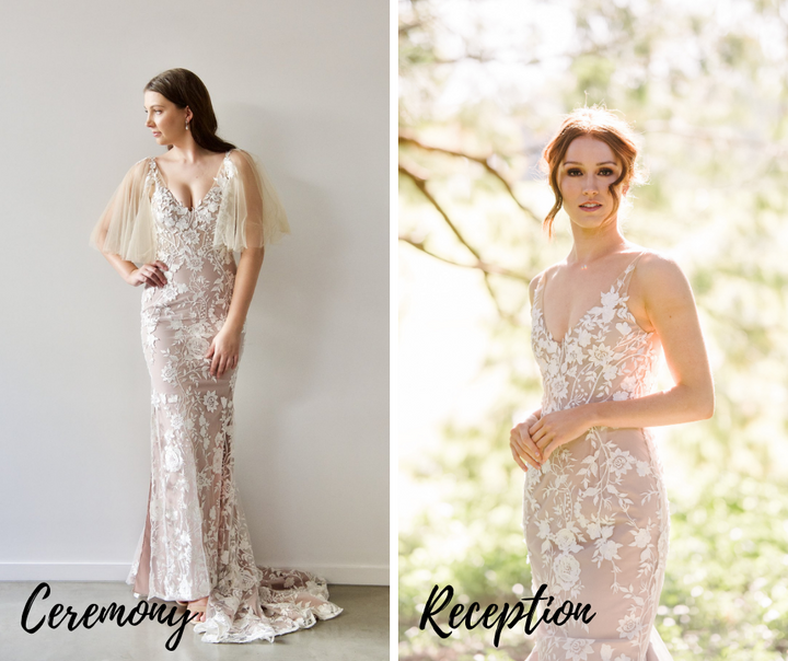 Best Wedding Gowns to take you from the ceremony to reception!
