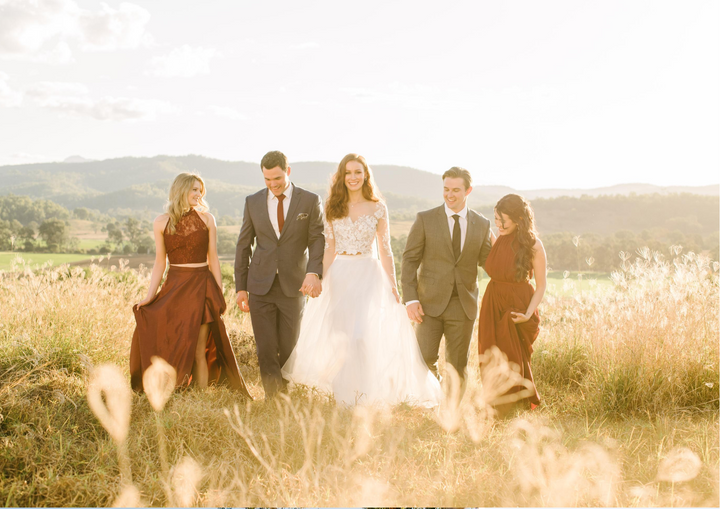 GEORGIA COLLECTION LOOKBOOK - Showstopping Country Wedding Inspiration