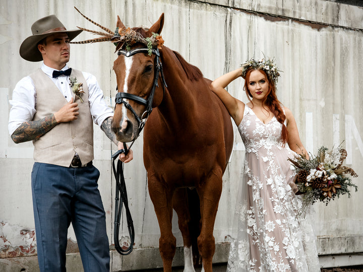 COUNTRY BRIDAL: WFML STYLED SHOOT