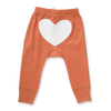 Brown Heart Pants