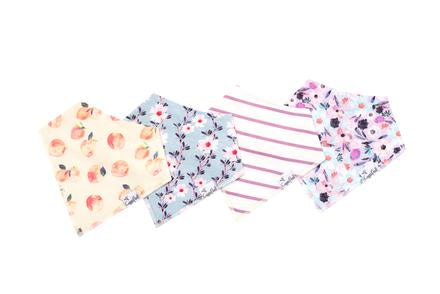 Bloom Bandana Bibs-Copper Pearl