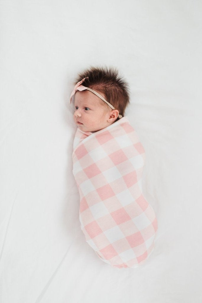 London Swaddle Blanket by Copper Pearl