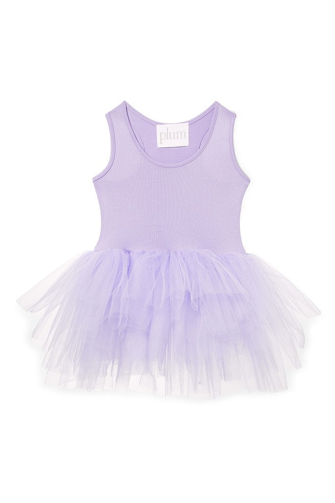 soft lilac coloured tutu with snap closures
