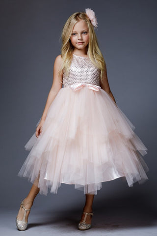 Sequin and Tulle Dresses