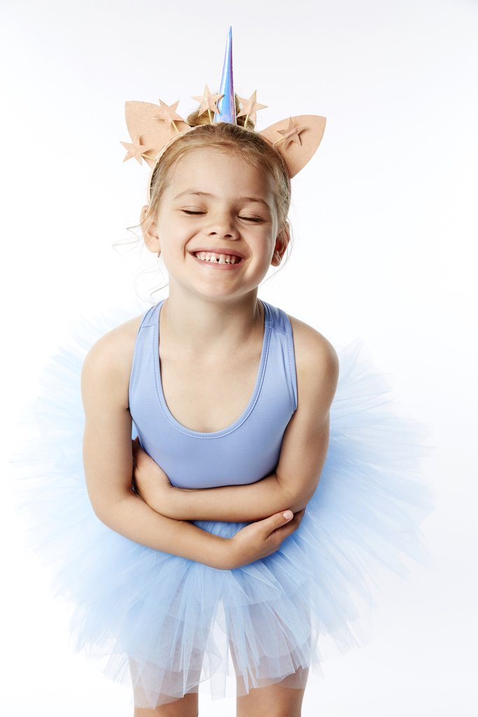 light blue tutu with snap crotch