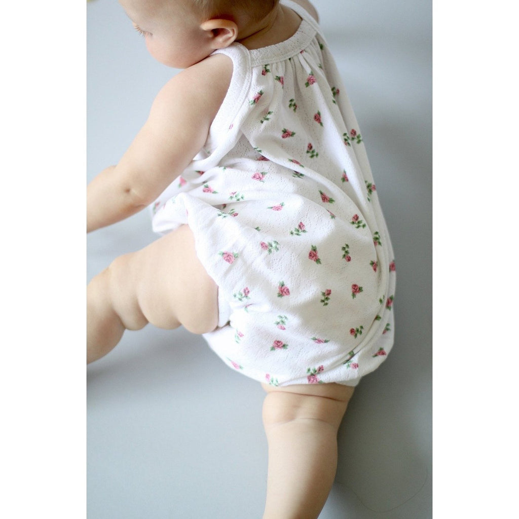 Vintage Rose Bubble Suit by Sapling Child