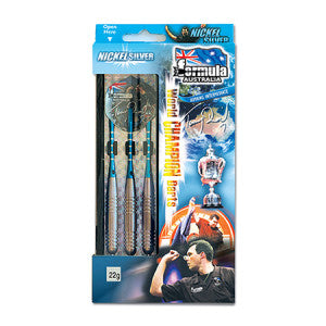 Nickel Silver Tony David Boxed Darts FSA