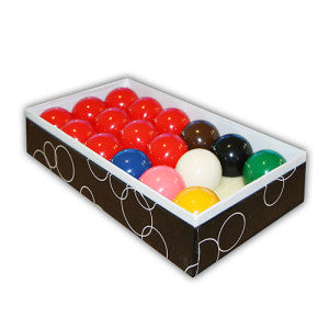 Standard Snooker Pool Balls Boxed FSA