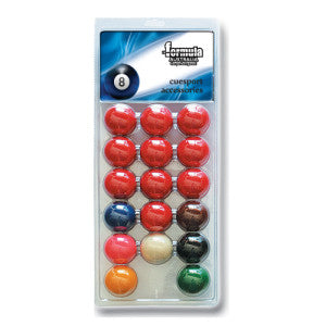 Recreational Snooker Pool Balls Blister Pack FSA
