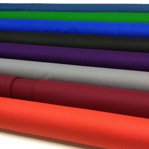 English Pool Table DIY Cloth Felt Kit 7' HAINSWORTH - Choose your colour - Bed and Rail cloth